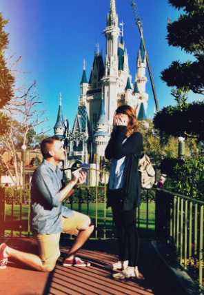 This Disney Flash Mob Proposal Took Four Months to Plan and It's Uh-Mazing