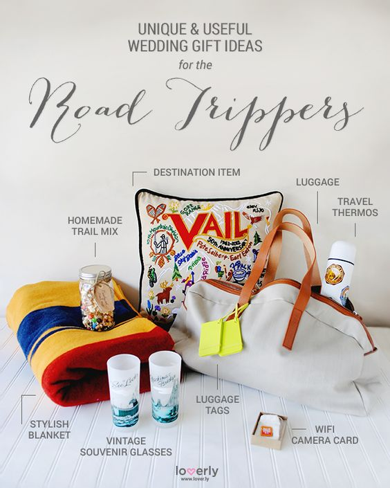 Give This Wedding Gift Ideas Perfect For Road Trippers